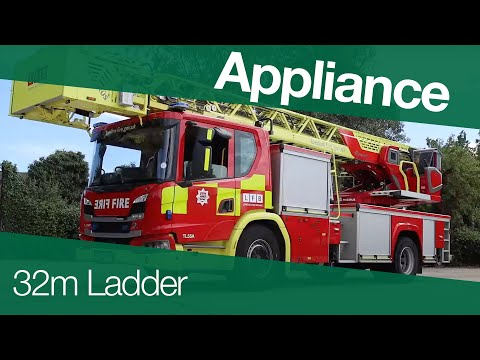 Our new 32 Metre Ladders