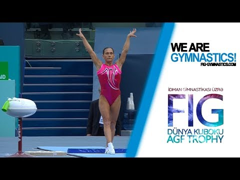 Baku 2018 Highlights Women - Artistic Gymnastics Individual Apparatus World Cup Series 2016-18
