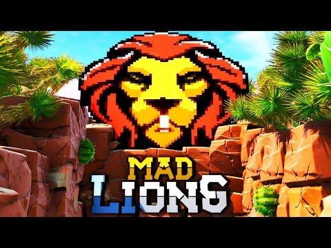 CREANDO MAPA [VEGETTA777 X MAD LIONS] *FORTNITE* (GAMERGY 2019)