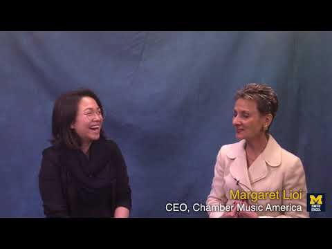 EXCELcast: Chamber Music America's CEO, Margaret Lioi
