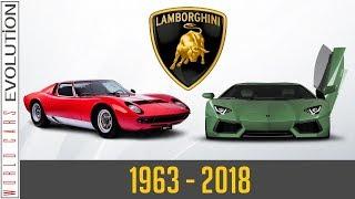 W.C.E - Lamborghini Evolution (1963 - 2018)
