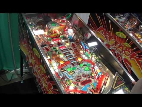Attack From Mars Pinball Remake (Chicago Gaming) - Amusement Expo 2017