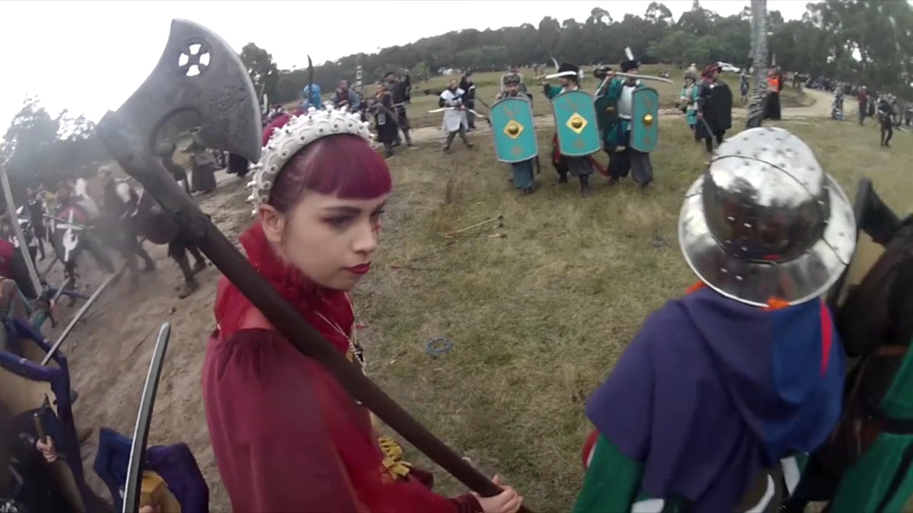 LARP Battle footage - Swordcraft quest April 2017