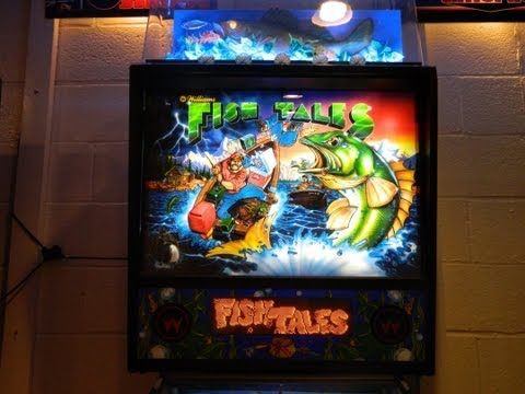 FISH TALES Pinball Machine ~ Cointaker LED's ~ GRC Gameplay Archive ~ MAT Scores 228,392,250...