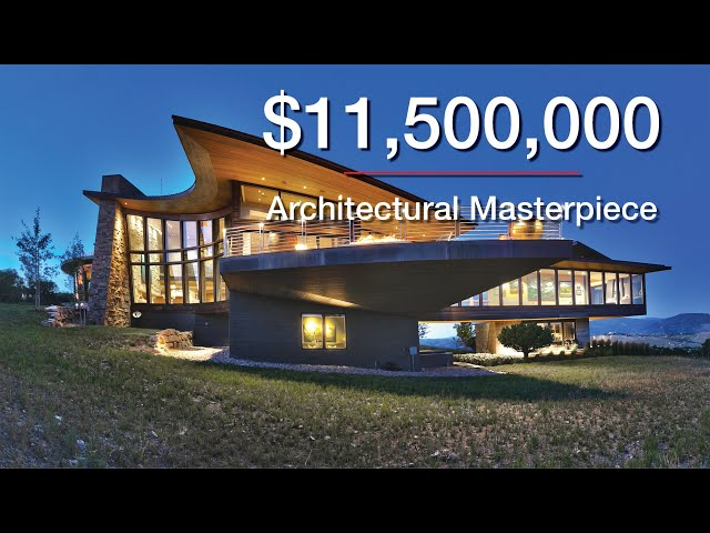 [SOLD] $11,500,000 Architectural Masterpiece in Promontory - Park City, Utah