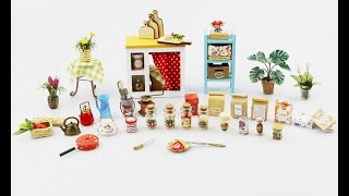 DIY Miniature ideas for dollhouse and Barbie items