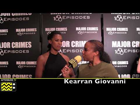 Kearran Giovanni On Major Crimes Season 6