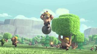 Clash of Clans - Flight of the Barbarian (TV Commercial)