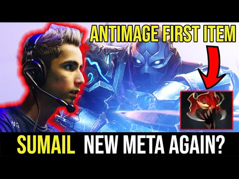 King SUMAIL New Meta Antimage. Mask Of Madness For 1st Item.
