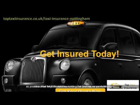 Nottingham UK Taxi Insurance