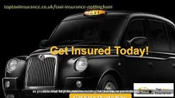 Nottingham UK Taxi Insurance