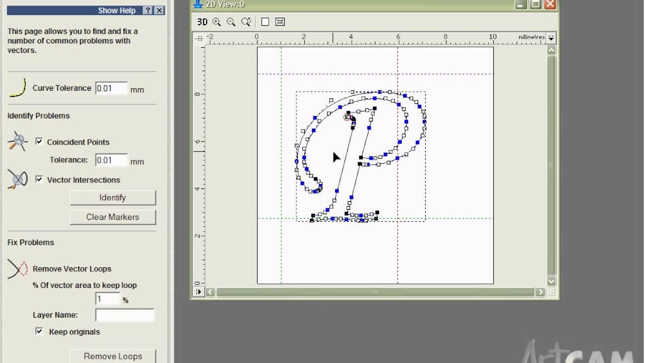 Artcam teaching video 6 Font Editor