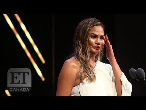 Chrissy Teigen's Emotional Glamour 'Women Of The Year' Speech | FULL SPEECH