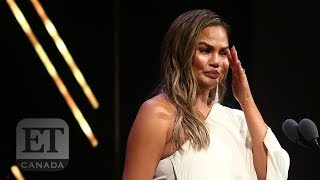Chrissy Teigen's Emotional Glamour 'Women Of The Year' Speech | FULL SPEECH
