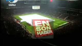 Başbakan Recep Tayyip Erdogan,Türk Telekom Arenada Acilis konusmasi yapdi ancak...