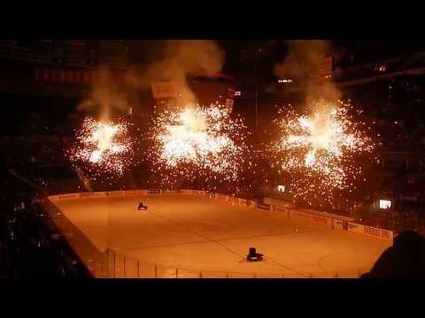 Scotiabank Saddledome - Fireworks
