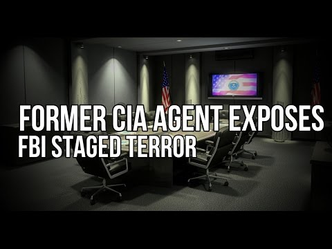 Former CIA Agent Exposes ANOTHER Fake FBI Terror Plot