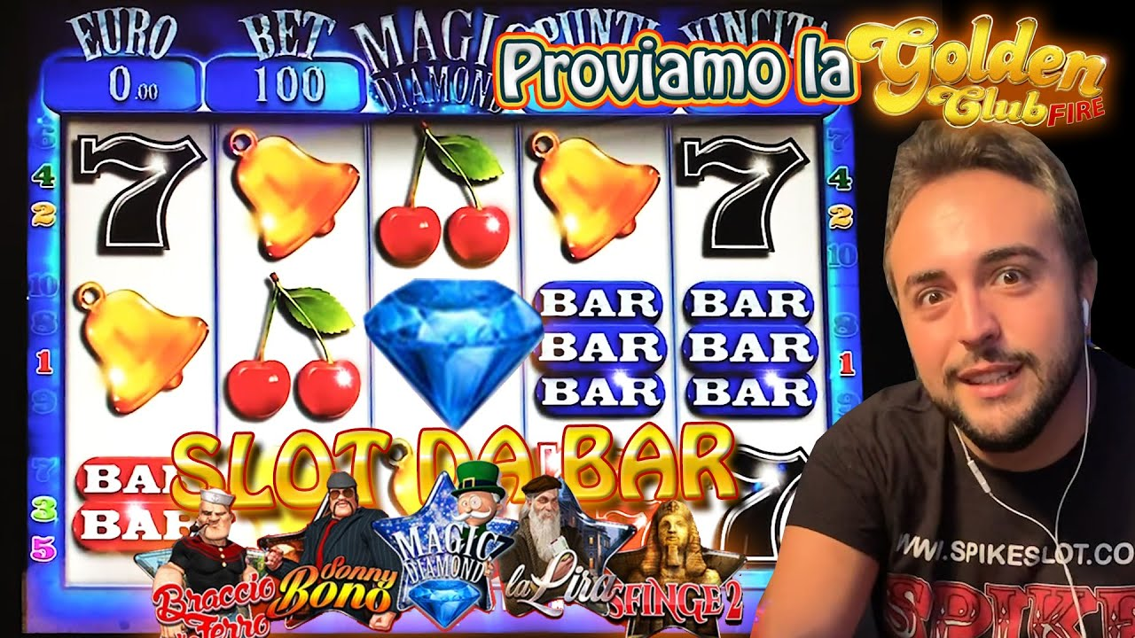 SLOT MACHINE DA BAR - Proviamo la GOLDEN CLUB FIRE???? (Multigioco VITAL GAMES)