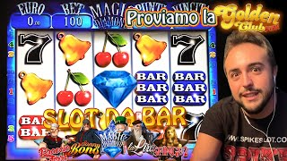 SLOT MACHINE DA BAR - Proviamo la GOLDEN CLUB FIRE🔥 (Multigioco VITAL GAMES)