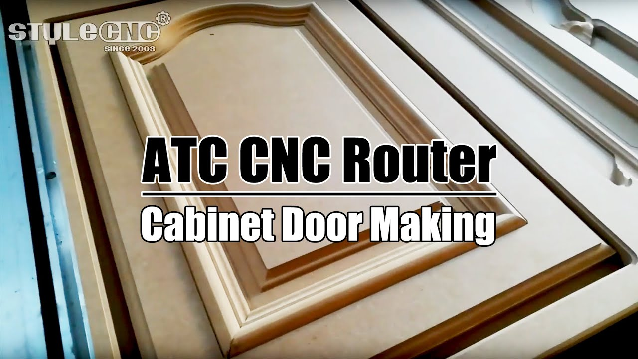 How To Make Cabinet Doors By Atc Cnc Router Machine Youtube