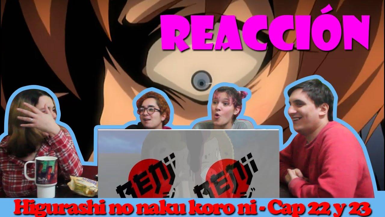 Download Reacción Higurashi no Naku Koro ni - Cap 22 y 23   Así se descuartiza