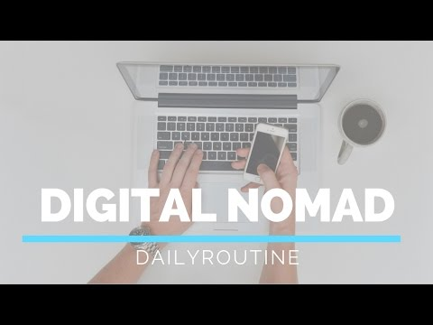 Entrepreneur / Digital Nomad Daily Routine explained