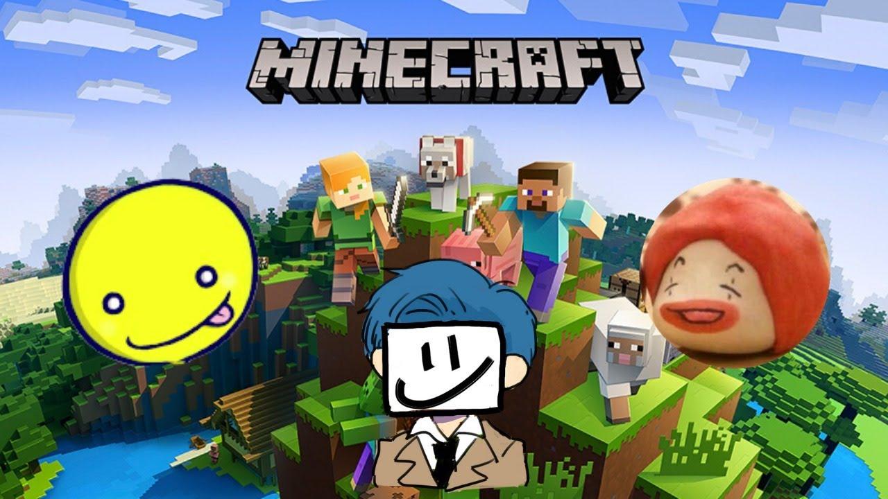 【マインクラフト生放送アーカイブ】マイクラNoobのEXAMをあっさりしょことキャリーしようとしたら僕もされました【Minecraft】
