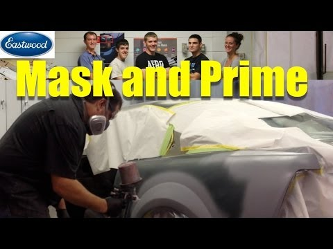 How To Mask and Prime a Car   Eastwood Video Series