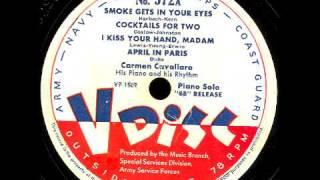 V-Disc 572  Carmen Cavallaro does the intro