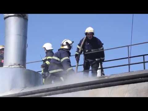 MYKOLAIV DSNS: Рятувальники ліквідували пожежу на території ТОВ «ПРІСТА РІСАЙКЛІНГ- Миколаїв»