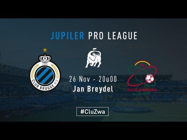 CLUB BRUGGE - ZULTE WAREGEM | Matchverslag | 2017-2018