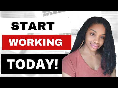6 Work From Home Jobs You Can Start Today-No Experience Necessary.