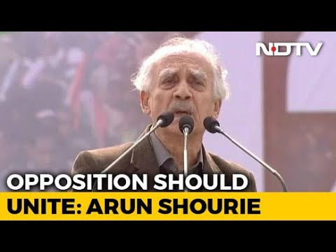 """""""Bengal Tigress' Call To Oust BJP Will Be Successful"""": Arun Shourie"""