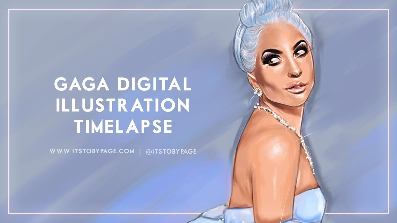 Gaga Digital Illustration Timelapse