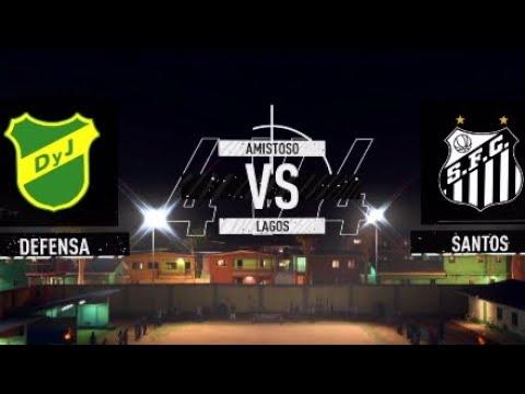 Fifa 20 Volta Csd Defensa Y Justicia X Santos Fc