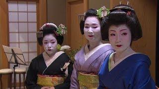 Японские гейши впервые раскрыли тайны своей жизни / Geishas reveal their secrets