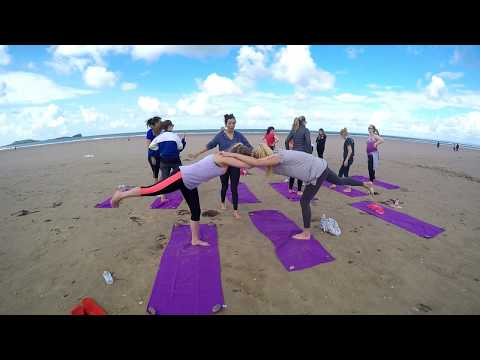 Big Blue Adventures - Henventure Wales - Beach Yoga + Surf