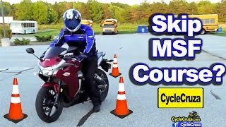 Get Motorcycle License Without MSF Course? (I Did)   MotoVlog