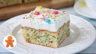 """Пирог Торт """"Конфетти"""" ✧ Funfetti Cake"""