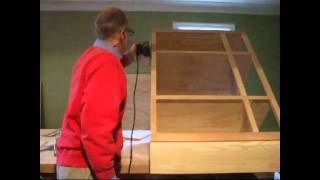 Cabinet Making: Sanding Cabinet Frame With Simple Tools