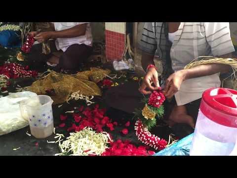 Flower vendors in Coimbatore