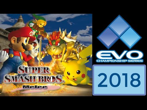 Evo 2018 - Smash Bros Melee | Top 8 | Grand Finals (Hungrybox, Leffen, Plup, Mang0, Armada, S2J)