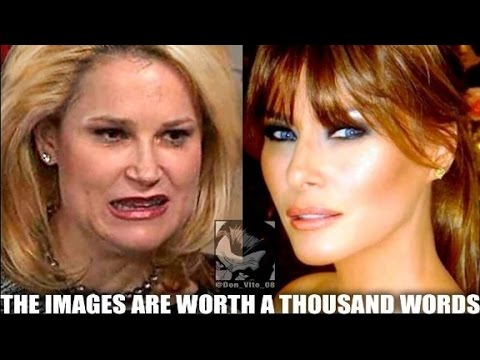 Donald Trump retweets Melania, Heidi Cruz meme