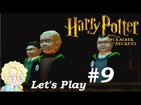 Let's Play The Chamber of Secrets [PS2] - (9) Crabbe and Goyle