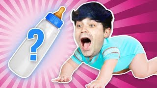 Mystery Baby Bottle Challenge!