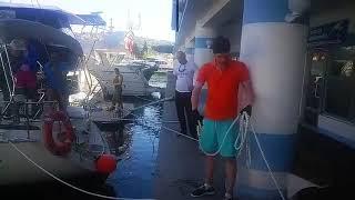 Обучение яхтингу в Крыму. День 1. Знакомство с яхтой.