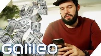Aktien kaufen mit Kleingeld! Kann man so richtig viel Geld verdienen? | Galileo | ProSieben