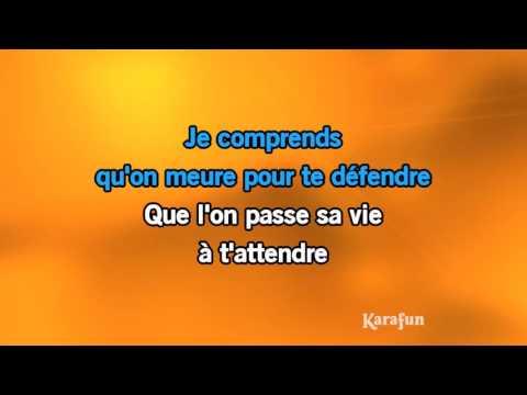 Karaoké Je chante avec toi liberté - Nana Mouskouri *