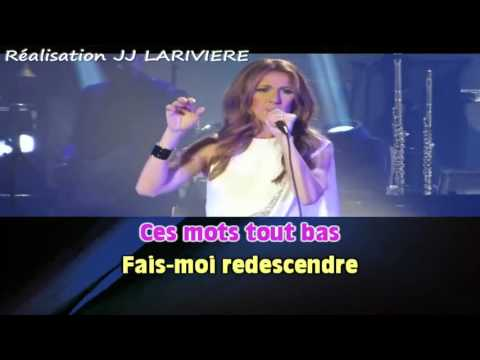 CELINE DION   REGARDE MOI I G JJ Karaoké - Paroles