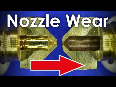 HOW MUCH abrasive filaments damage your nozzle!